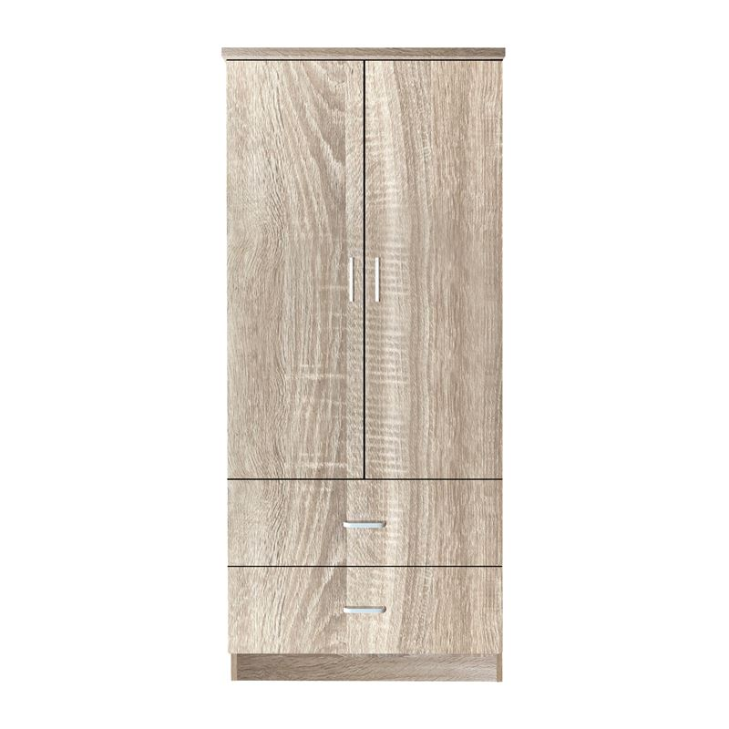 Closet Ντουλάπα 80X50X180Cm Sonoma Ε8384,2