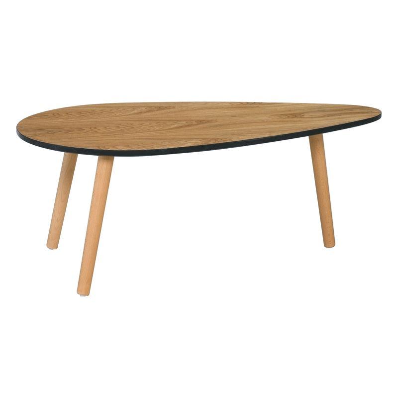 Fine Τραπ.σαλονιού 89X48X34Cm Αποχρ.ξύλου Φυσικό