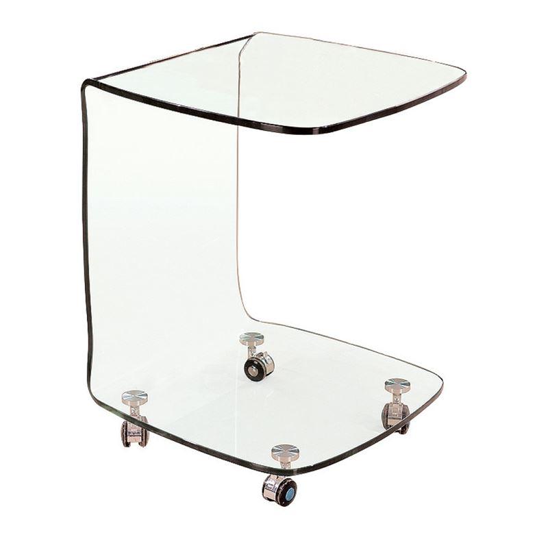 Glasser Clear Trolley Γυαλί 10Mm 45X45X60Cm