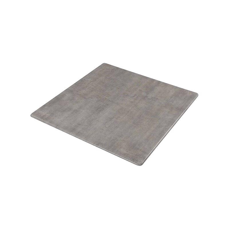 Επιφάνεια τραπεζιού Contract Sliq σε χρώμα Cement 60x60cm/16mm