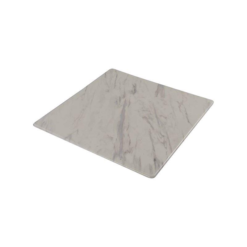 Επιφάνεια τραπεζιού Contract Sliq σε χρώμα Marble 70x70cm/16mm