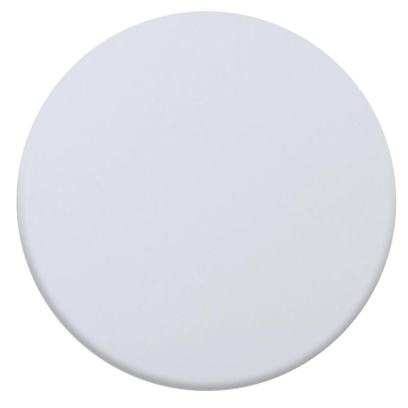 Επιφάνεια τραπεζιού Contract Sliq σε χρώμα Λευκό Φ60cm/16mm