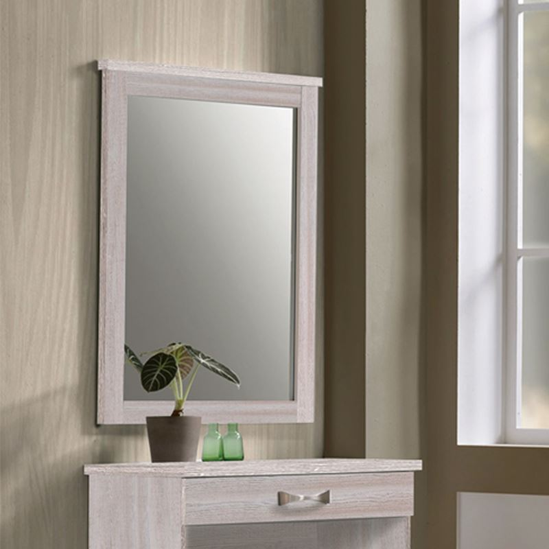 Life Καθρέπτης 72X93 White Wash ΕΜ368,5