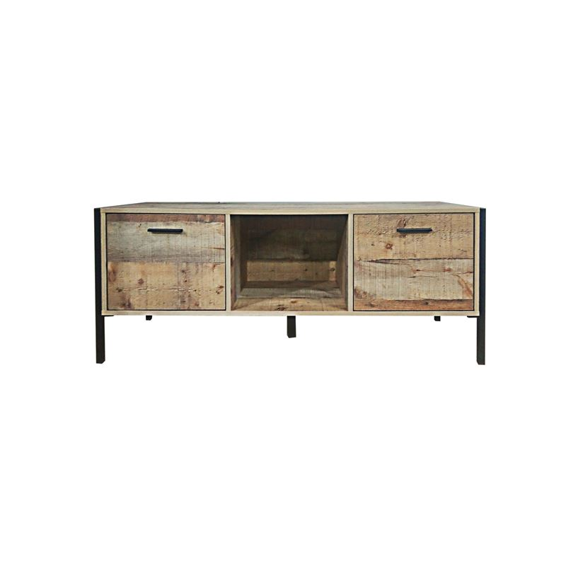 Pallet-W Έπιπλο Tv 2-Ντουλ.124X40X50 Antique Oak Ε8441,W