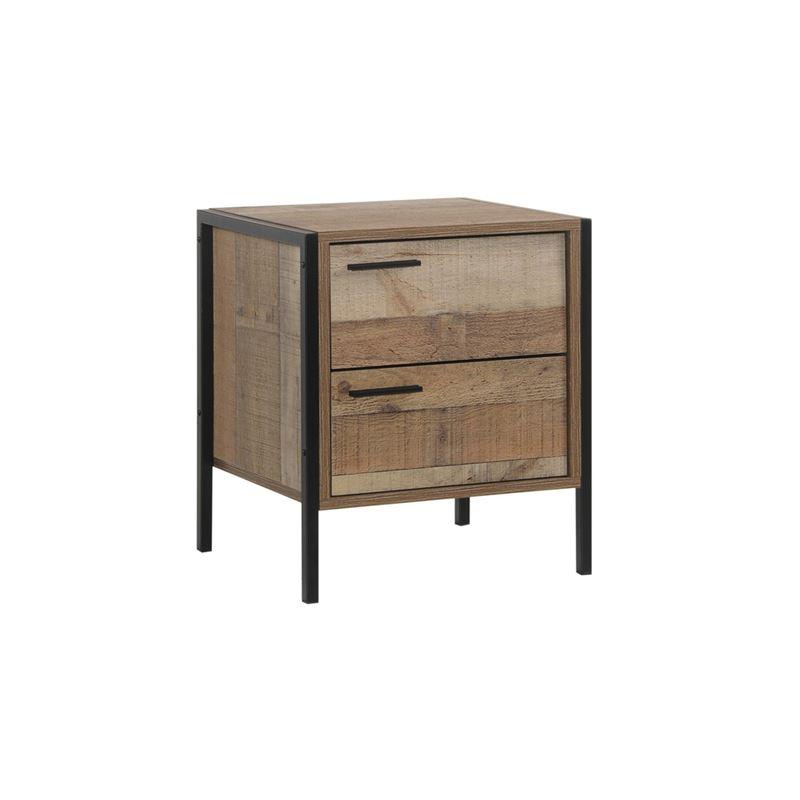 Pallet-W Κομοδίνο 44X40X50 Antique Oak Ε8433,W