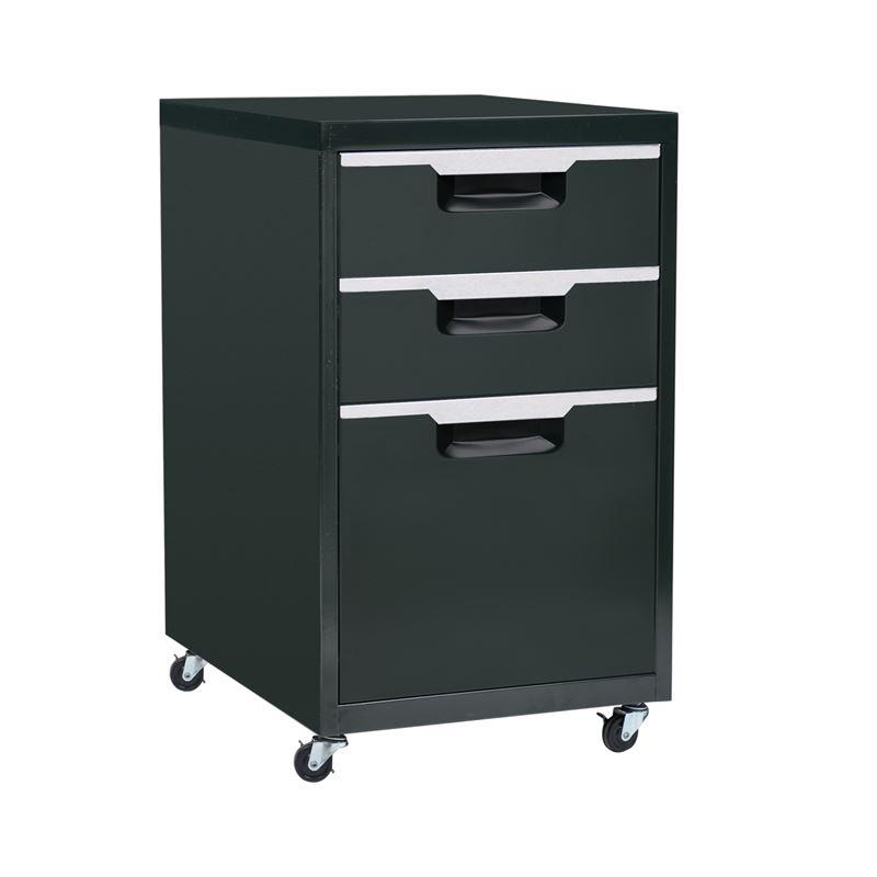 Συρταριέρα Μεταλλική 40X50X67Cm Μαύρη