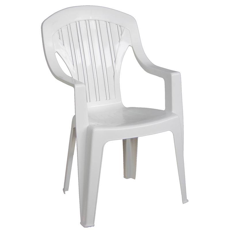 Tropea Πολυθ.στοιβαζόμενη Πλαστική Άσπρη