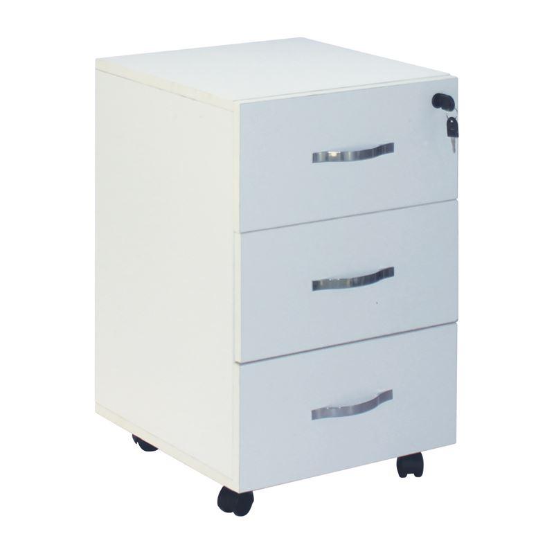 Unit Συρταριέρα (3Σ) 38X42X63 Άσπρη