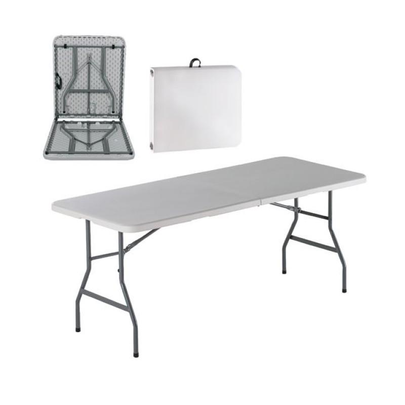 Τραπέζι BLOW μεταλλικό πτυσσόμενο για Catering 180x74x74εκ. ΕΟ179