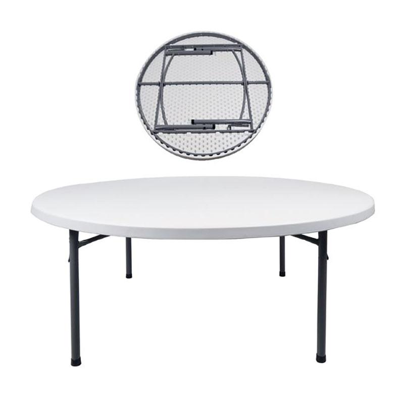 Τραπέζι πτυσσόμενο Blow-R με επιφάνεια από HDPE Ø181x74εκ. ΕΟ175,1