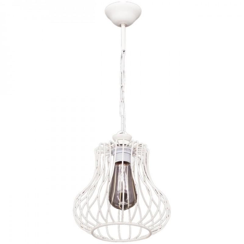 """Φωτιστικό οροφής """"Deren-s"""" μεταλλικό σε χρώμα λευκό 07.04.0394"""