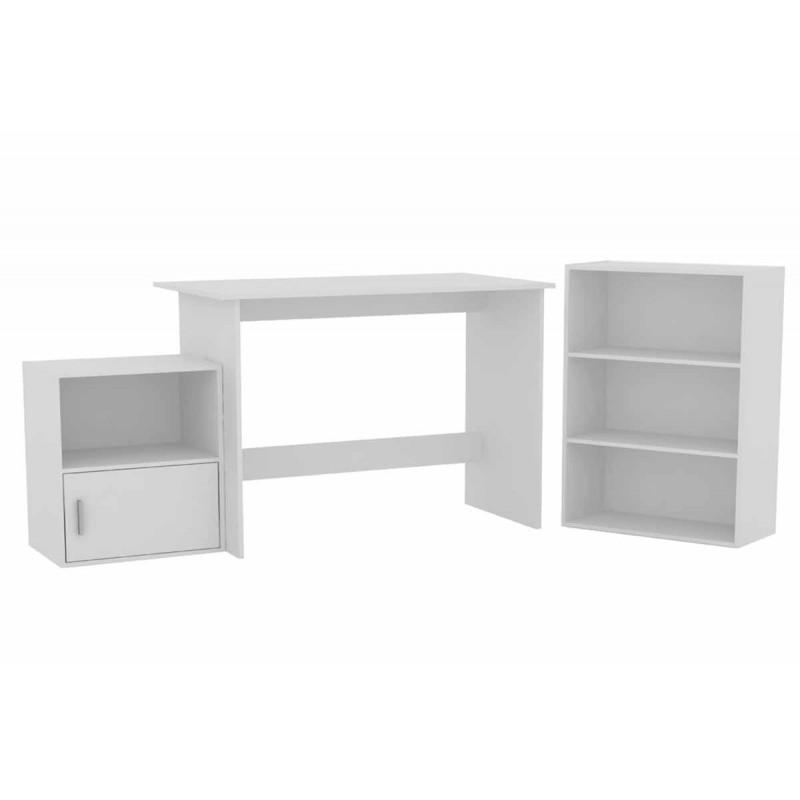 Σετ γραφείο DECON σε λευκό χρώμα