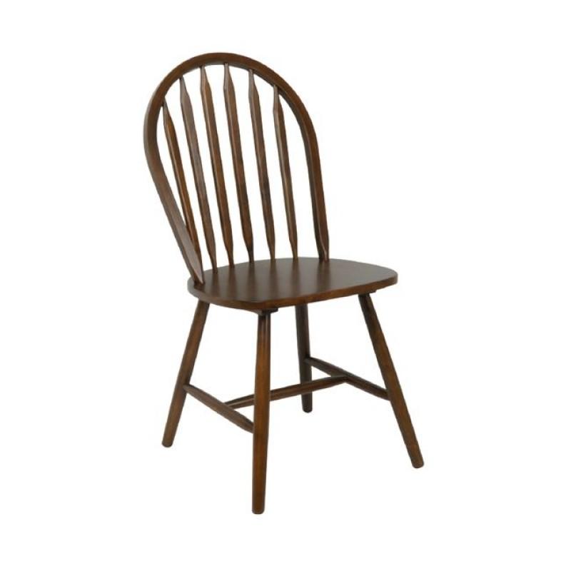 SALLY Καρέκλα Καρυδί Ε7080 Woodwell