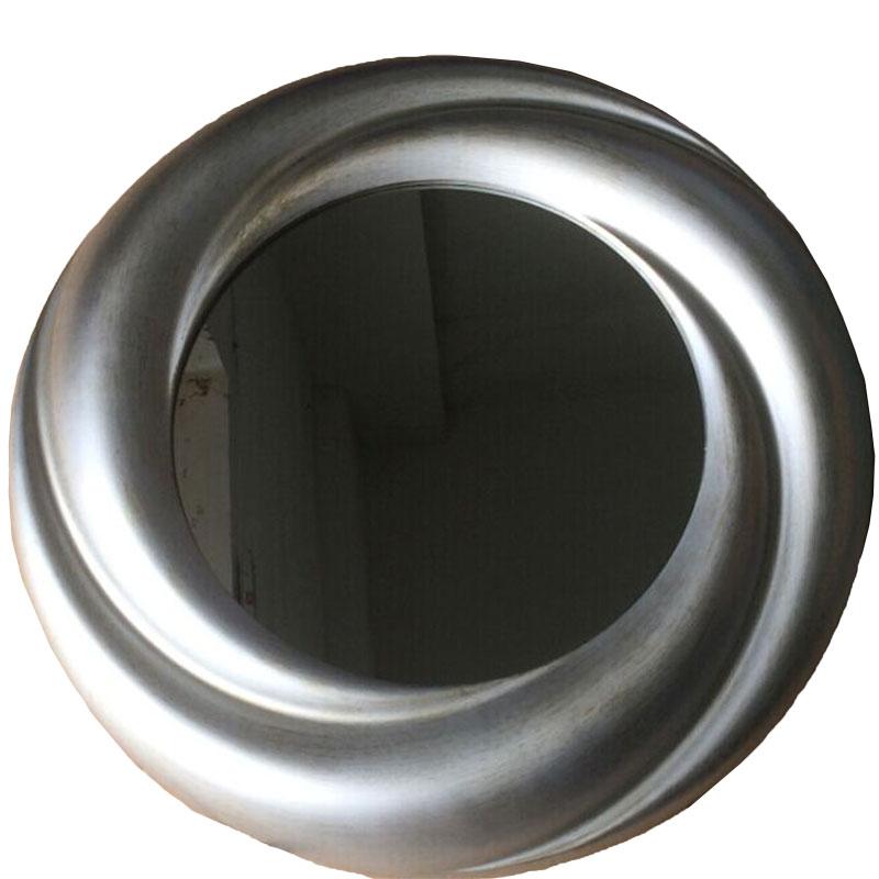 Στρογγυλός καθρέπτης σε χρώμα antique silver 01.09.0108