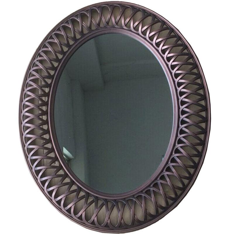 Οβάλ, πλαστικός καθρέπτης 01.09.0110