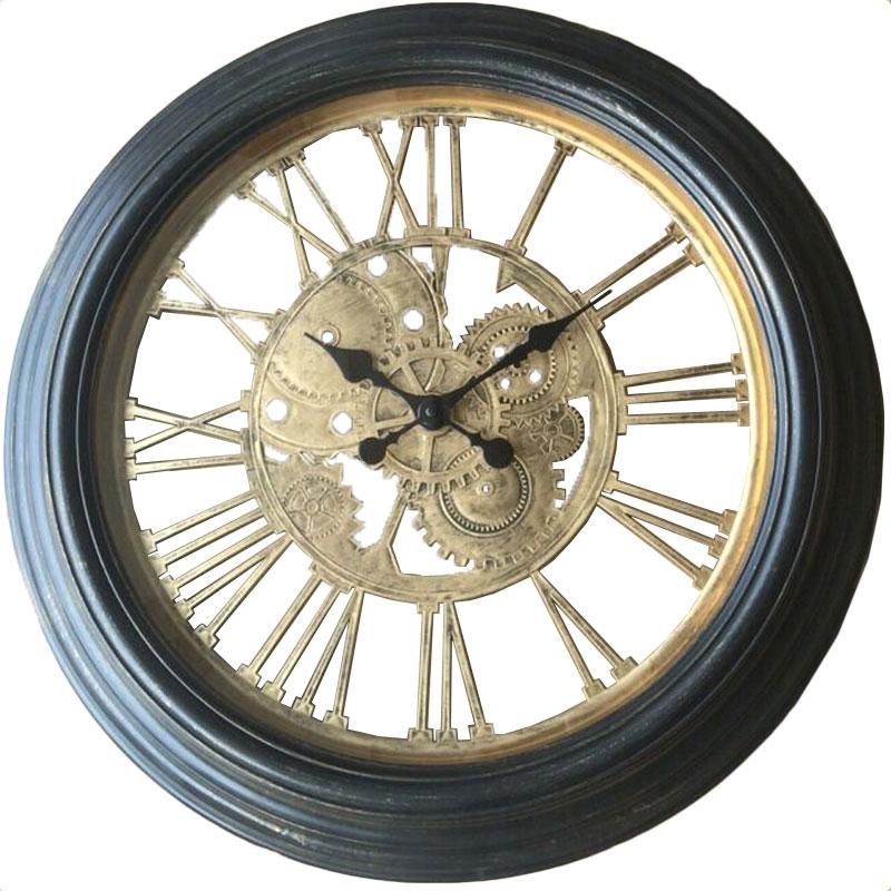 Πλαστικό ρολόι τοίχου Φ59εκ. 01.20.0004