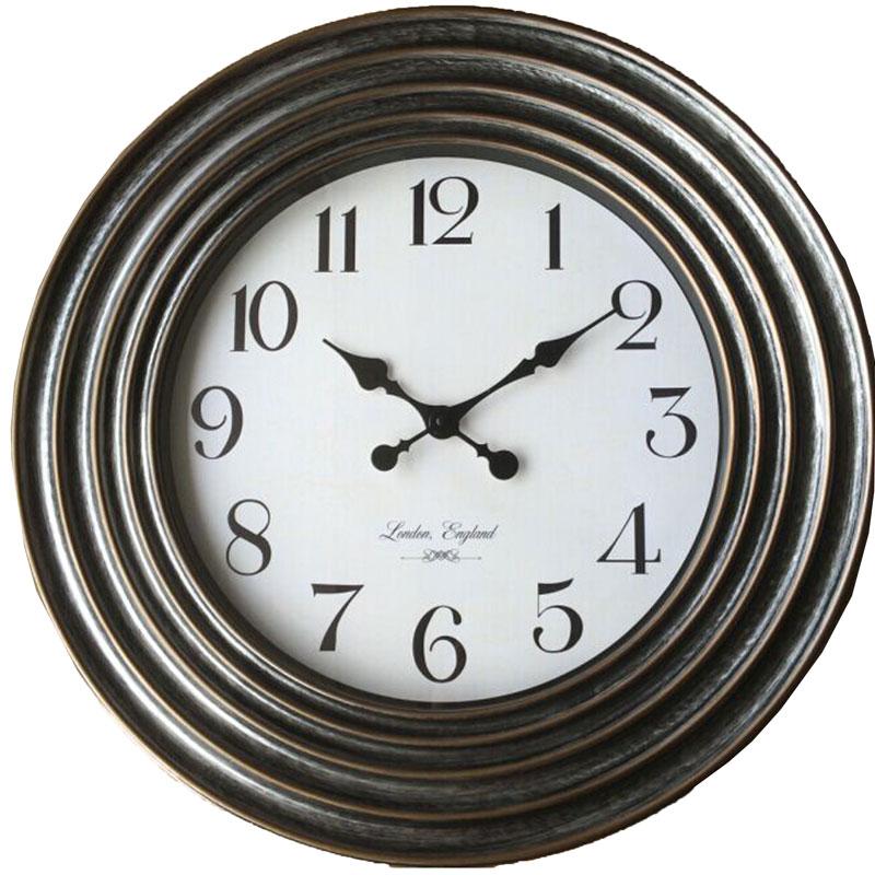 Πλαστικό ρολόι τοίχου Φ58εκ. 01.20.0007