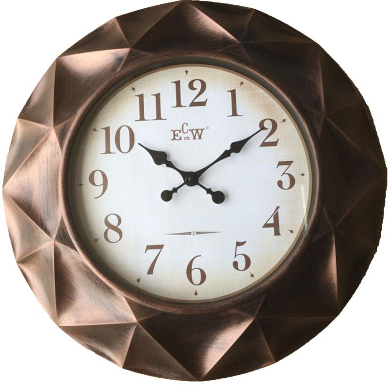 Πλαστικό ρολόι τοίχου Φ61εκ. 01.20.0008