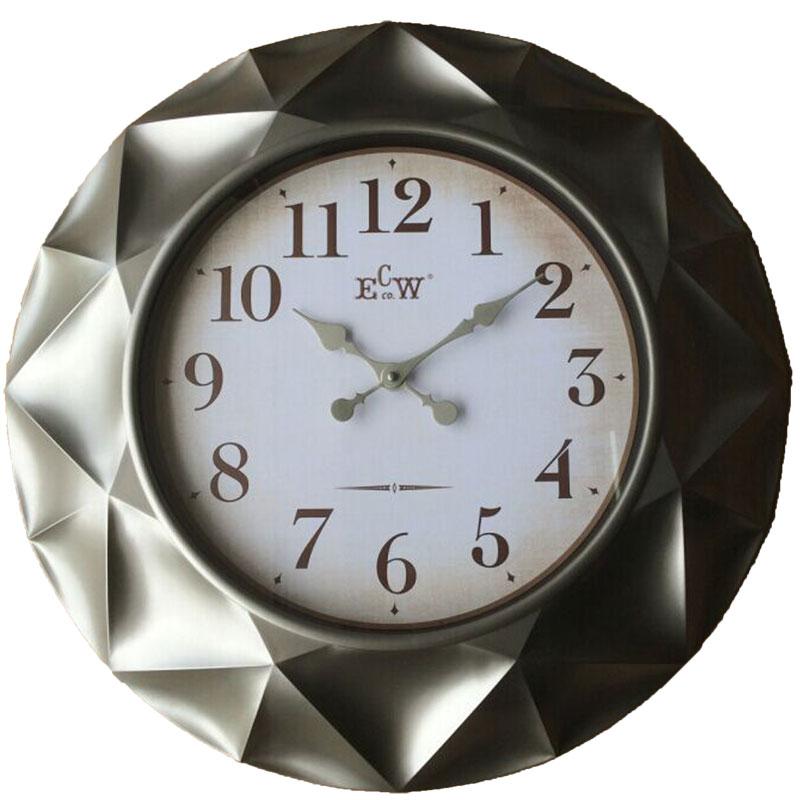 Πλαστικό ρολόι τοίχου Φ61εκ. 01.20.0009
