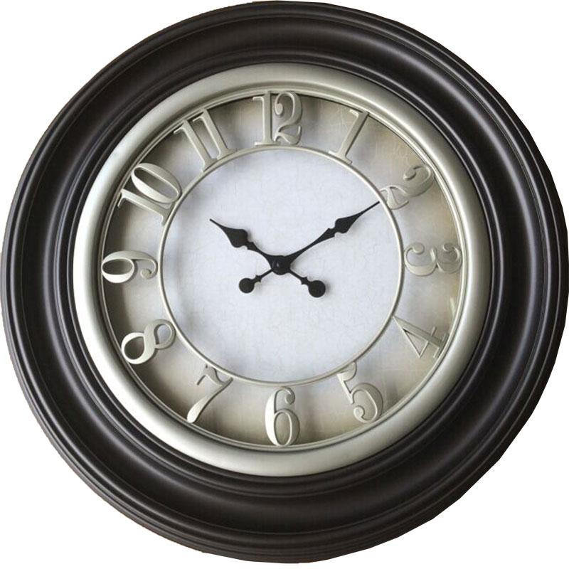 Πλαστικό ρολόι τοίχου Φ66εκ. 01.20.0010