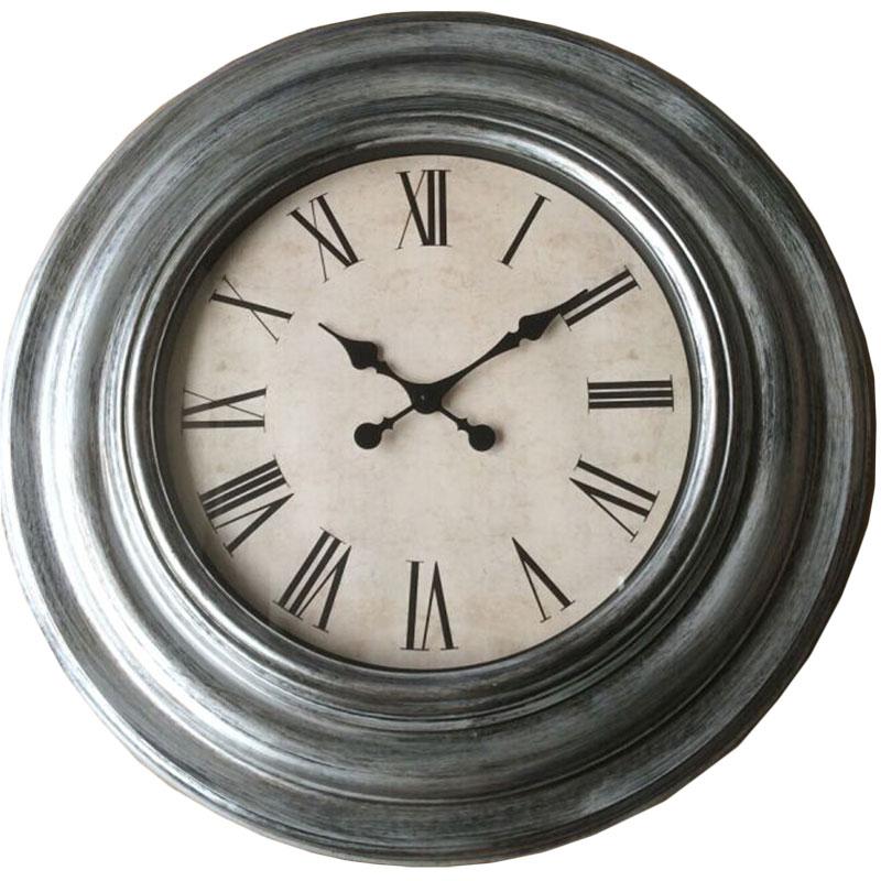 Πλαστικό ρολόι τοίχου Φ76εκ. 01.20.0011