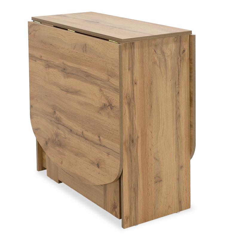 Τραπέζι Julian Πολυμορφικό-Επεκτεινόμενο Χρώμα Sonoma 80X37X75,5Εκ