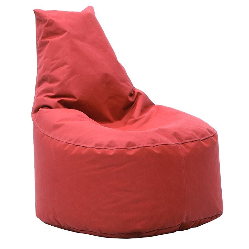 Πουφ Πολυθρόνα Norm Υφασμάτινο Αδιάβροχο Κόκκινο