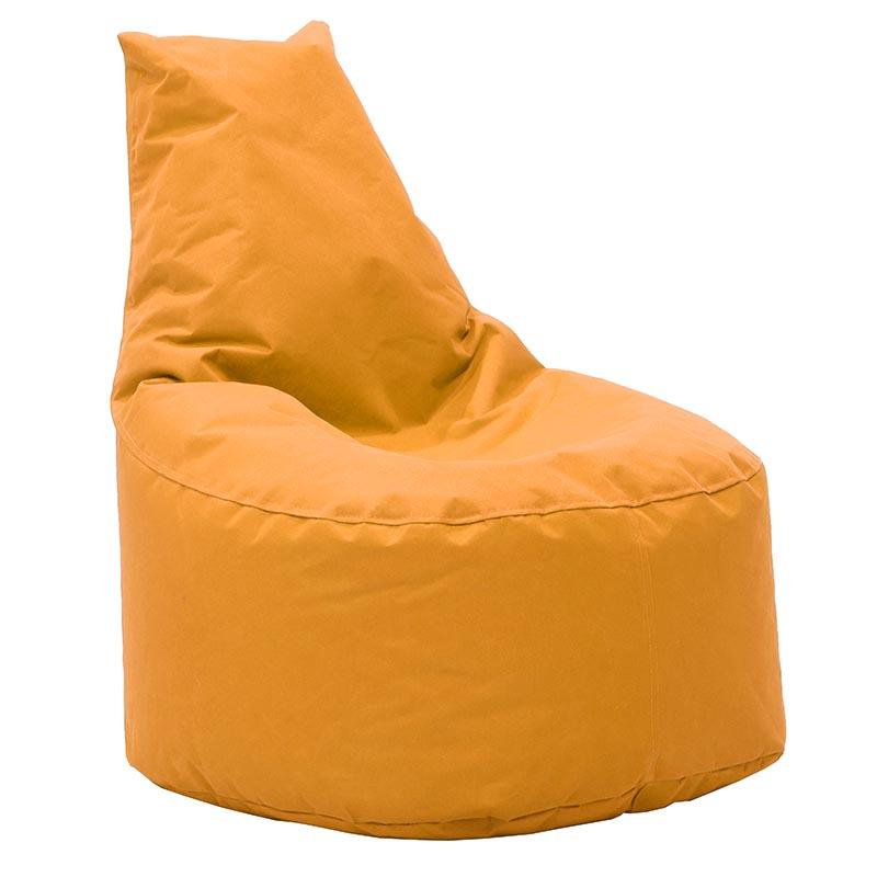 Πουφ Πολυθρόνα Norm Υφασμάτινο Αδιάβροχο Πορτοκαλί