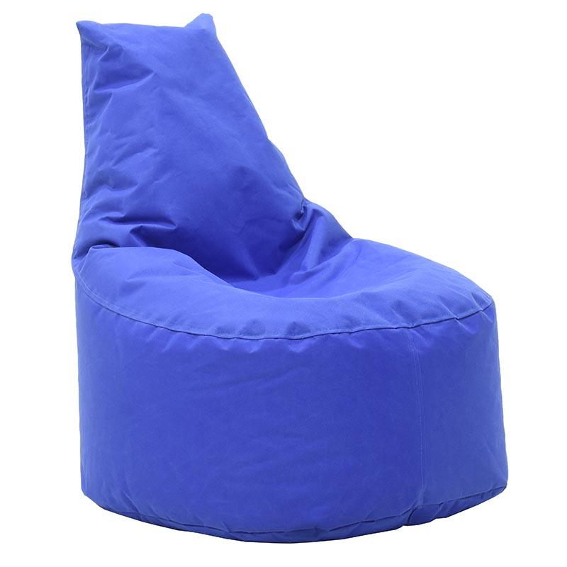 Πουφ Πολυθρόνα Norm Υφασμάτινο Αδιάβροχο Μπλε