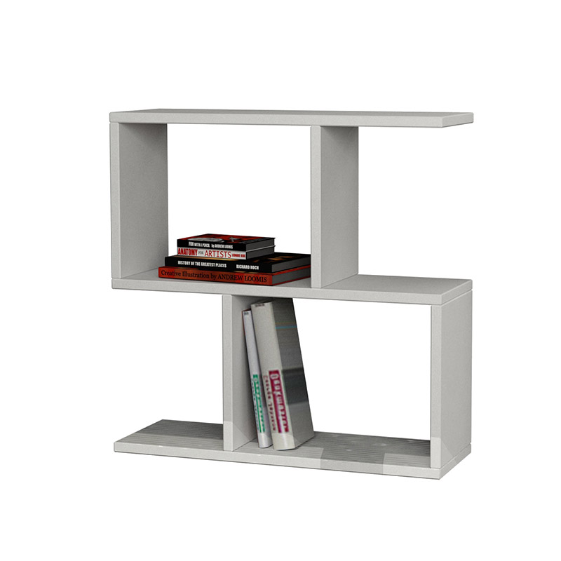 Βοηθητικό Τραπέζι Homemania Pakoworld Χρώμα Λευκό 60X20X60Εκ
